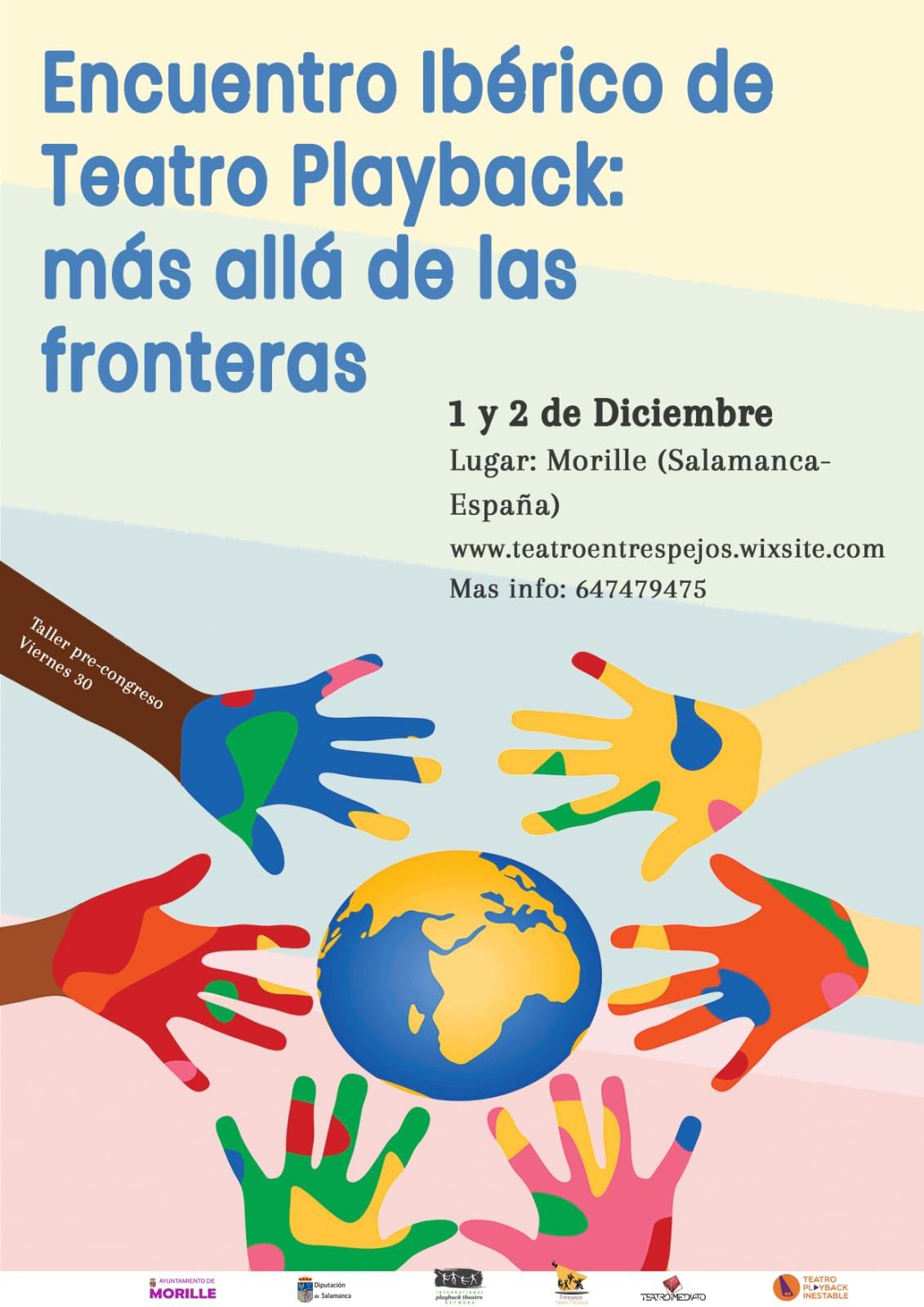 Encuentro Ibérico de Teatro Playback: MORILLE, 1 y 2 de diciembre de 2018