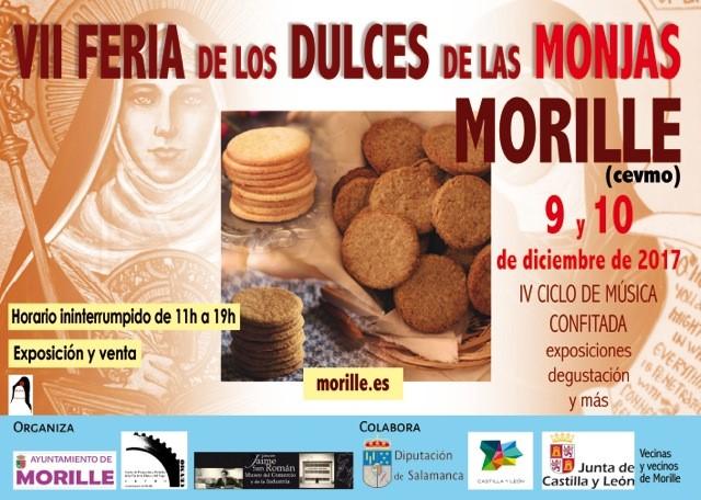 VII FERIA DE LOS DULCES DE LAS MONJAS: 9 y 10 de diciembre de 2017